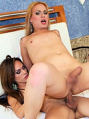 Isabelly Killer And Evelyn Rangel In Sexy Trans Lesbian Hardcore Scene