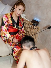 Mistress Reina Trains A New Man Slave